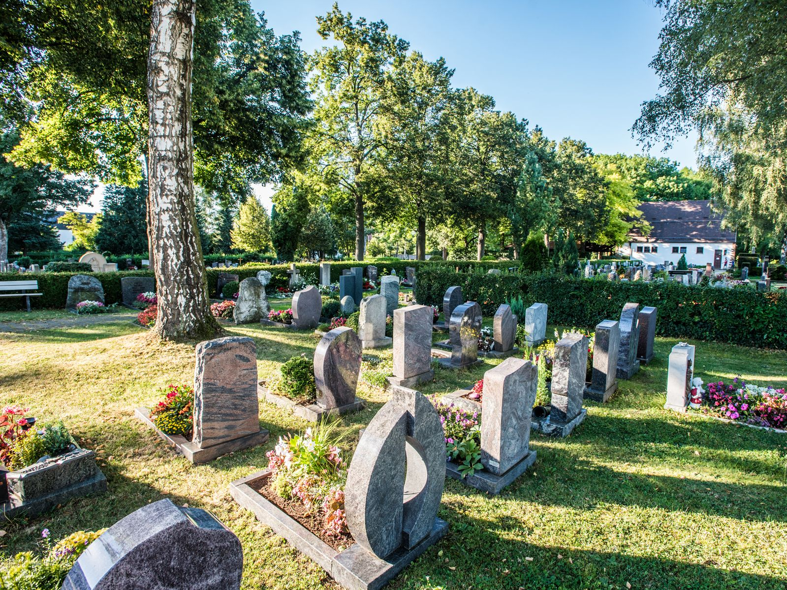 Friedhof in Eislingen Süd