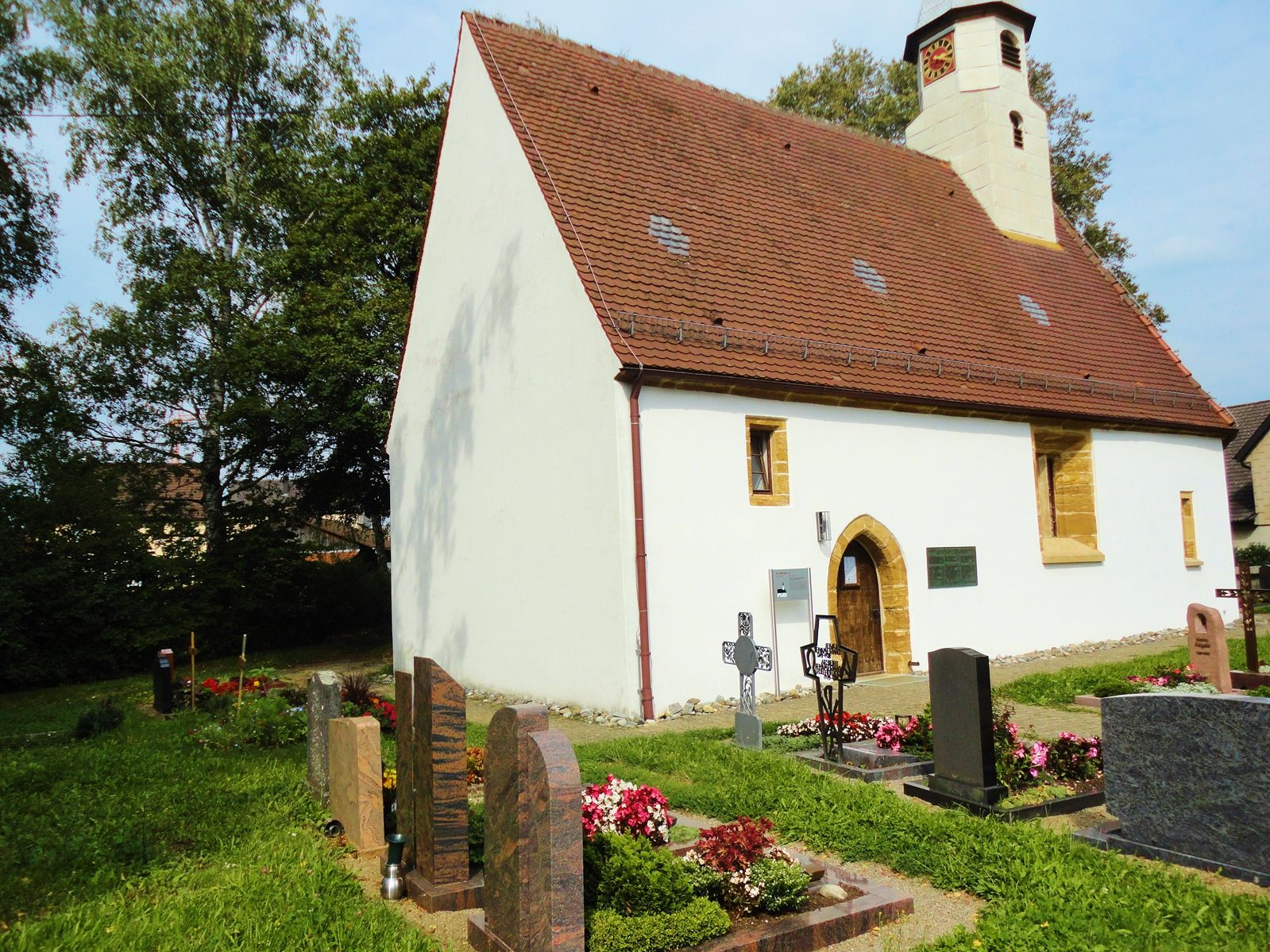 Friedhof in Krummwälden