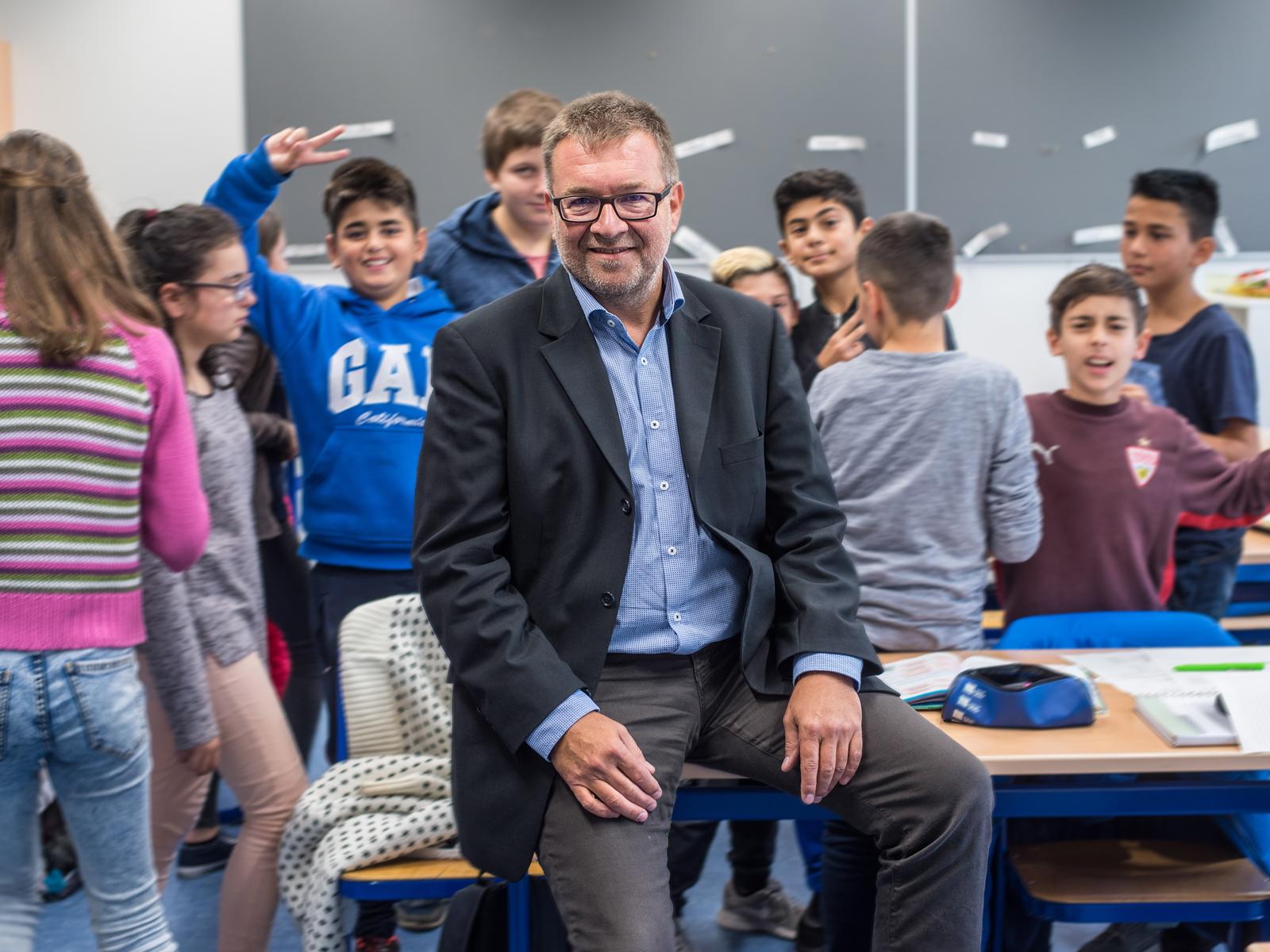 Schulleiter der Schillerschule Martin Latosinszky