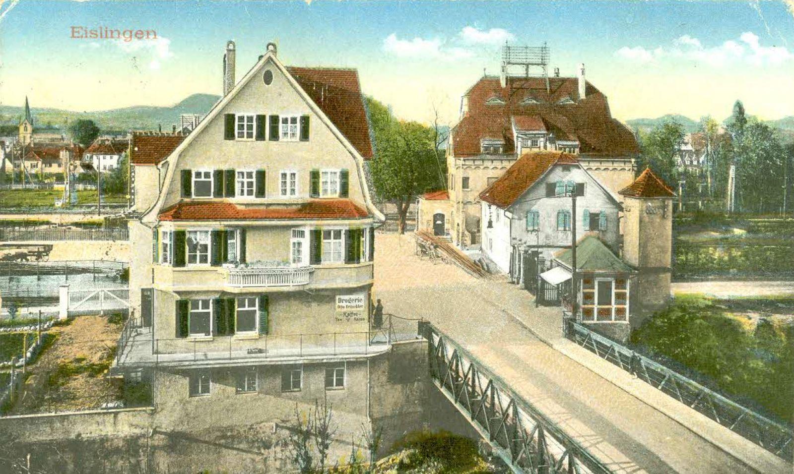 Postkarte 1917