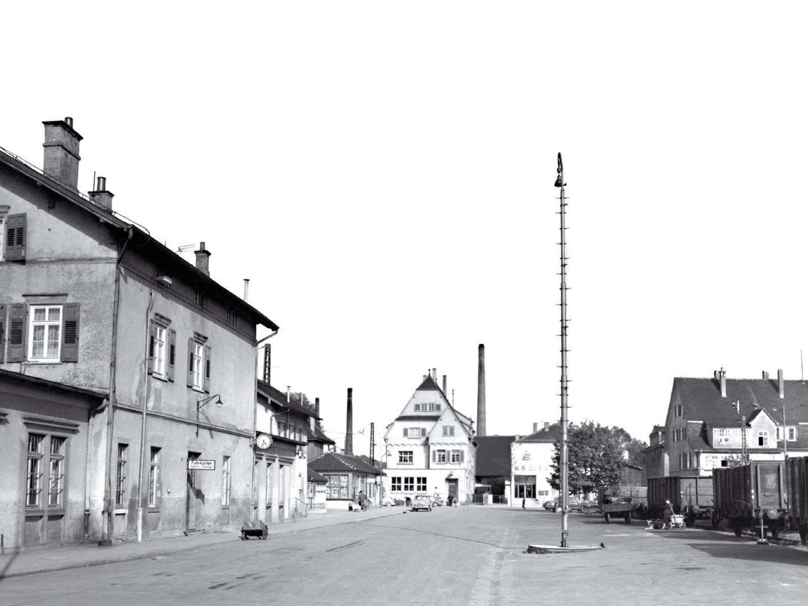 Station 2: Eisenbahn