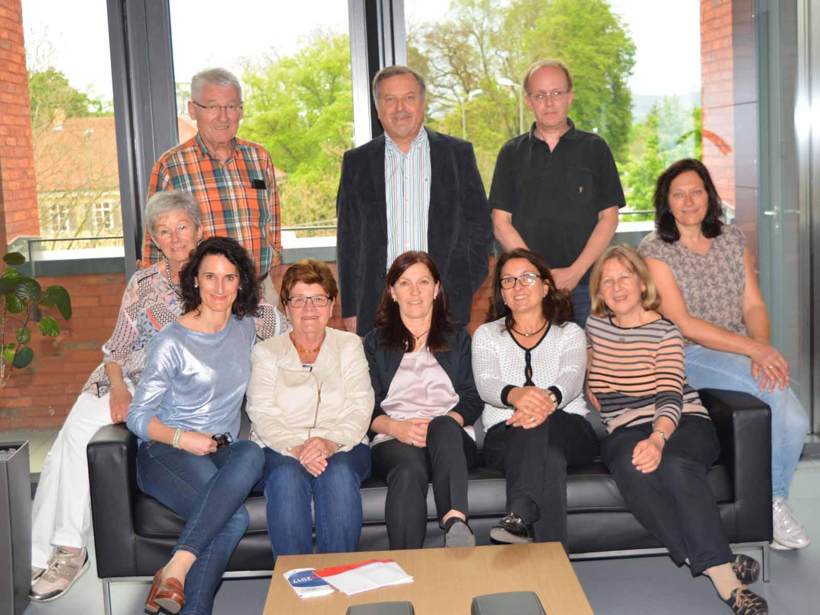 Gruppenfoto Partnerschaftskomitee