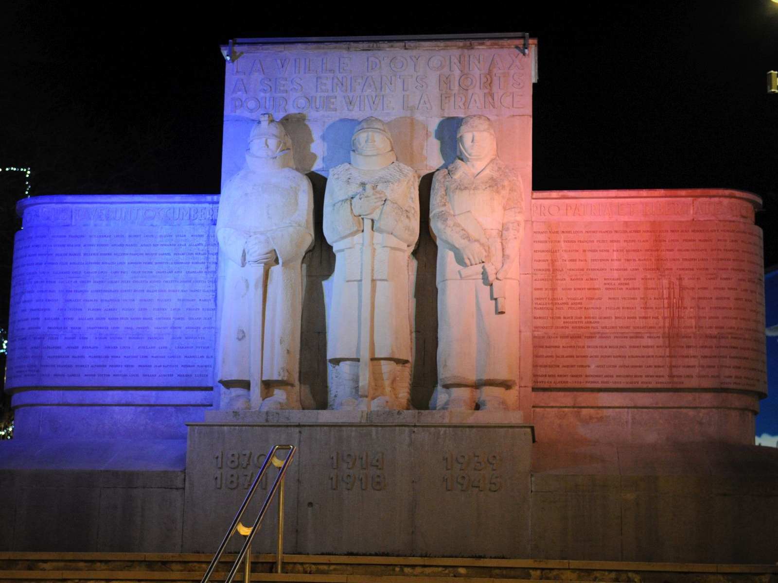 Kriegerdenkmal in Oyonnax