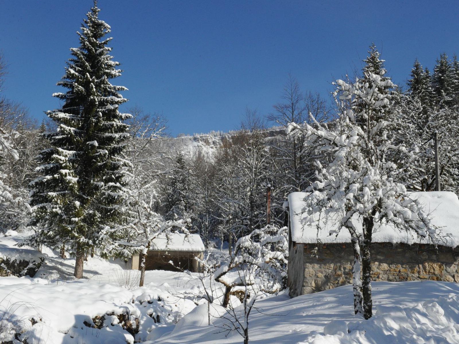 Winterlandschaft in Oyonnax