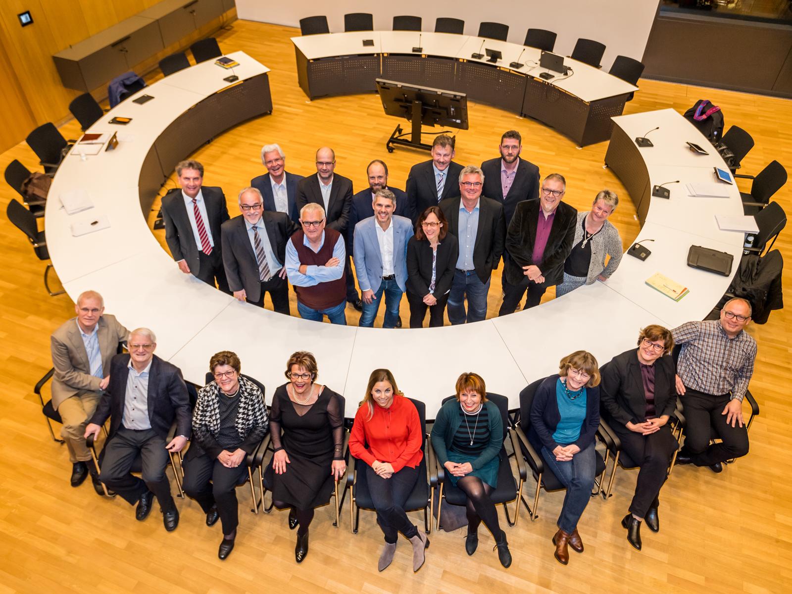 Gruppenfoto Mitglieder Gemeinderat