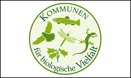 Logo für die Initiative Kommunen für biologische Vielfalt