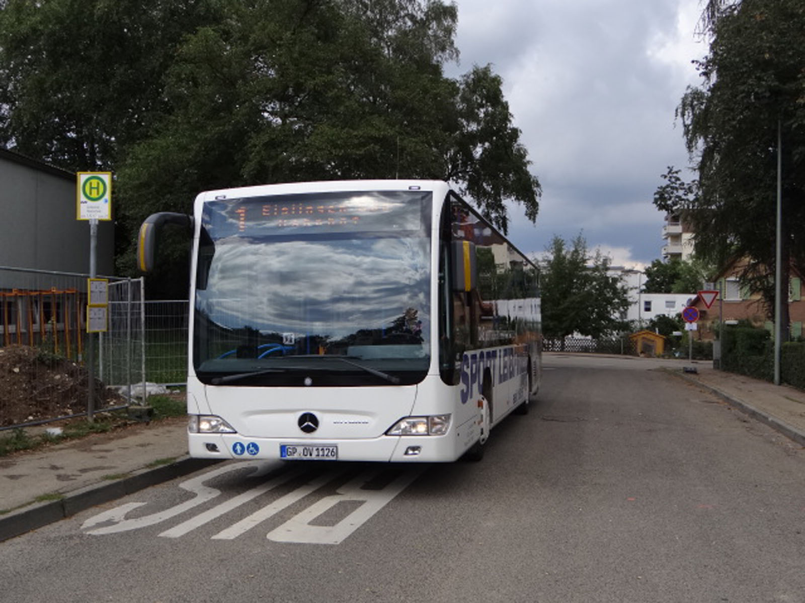 Bus in Eislingen