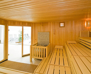 Neue Sauna im Eislinger Hallenbad