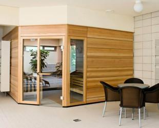 Saunabereich im Eislinger Hallenbad
