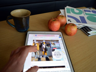 Waren im Internet bei den lokalen Geschäften online bestellen und vor Ort abholen