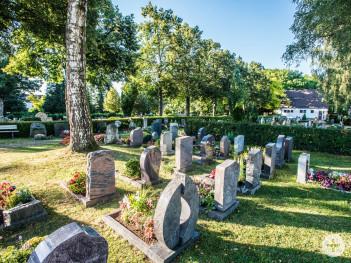 Friedhof in Eislingen Süd