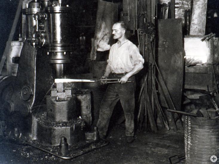 Hitsorische Bilder der Industriekultur Eislingens