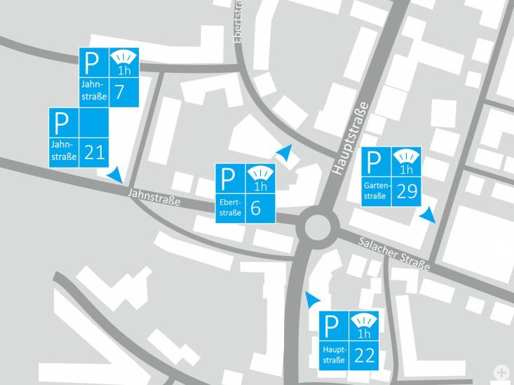 Parken Bereich Freymannkreisel/Hauptstraße