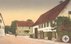 historische Bahnhofstraße