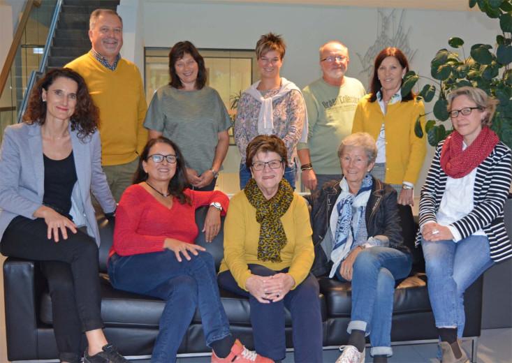 Gruppenbild der 10 Mitglieder des Partnerschaftskomitees