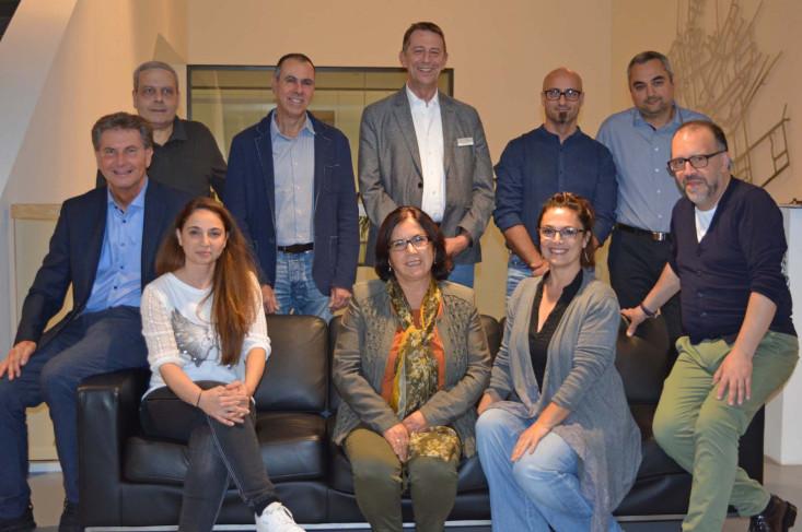 Gruppenfoto des Integrationsausschusses