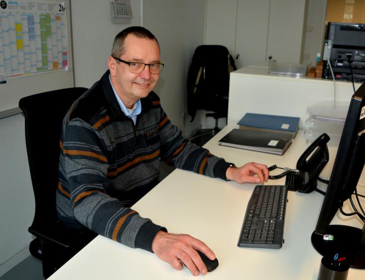 Kurt Frühklug - neuer Mitarbeiter im Rathaus