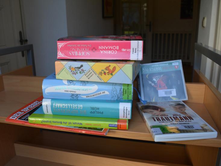 Medien zur Abholung in der Stadtbücherei Eislingen