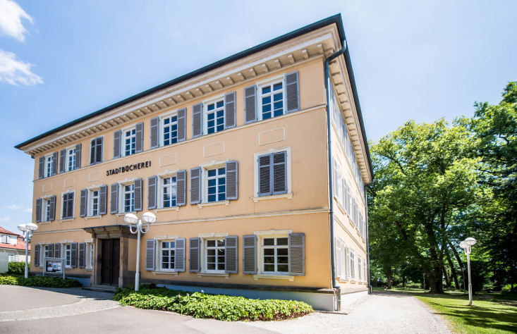 Stadtbücherei im Schloss