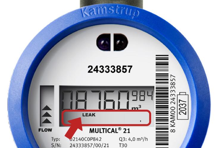 Funkwasserzähler der Firma Kamstrup