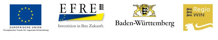Vier Logos der Fördergeber.